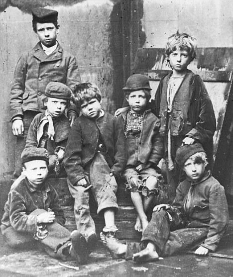 Destitute children 1984