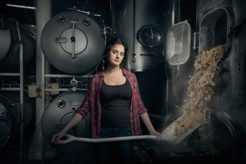Christina Burris, Brewer and Operations Manager, St. Benjamin's Brewing, Philadelphia, PA.