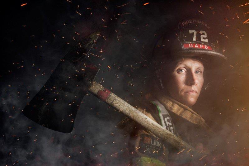 Mindy Gabriel, firefighter, Upper Arlington, Ohio