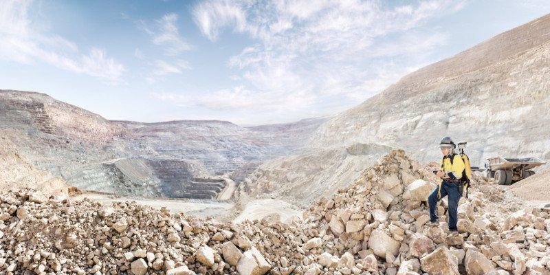 """""""Kris Alvarez, Senior Geologist at the Round Mountain Gold Mine in Nevada,"""