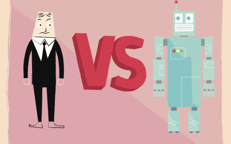 τεχνολογία vs εργάτες