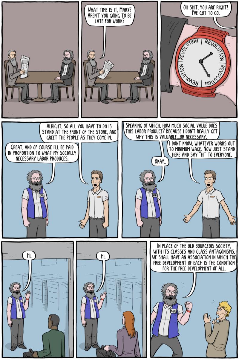 karl Marx Job 1
