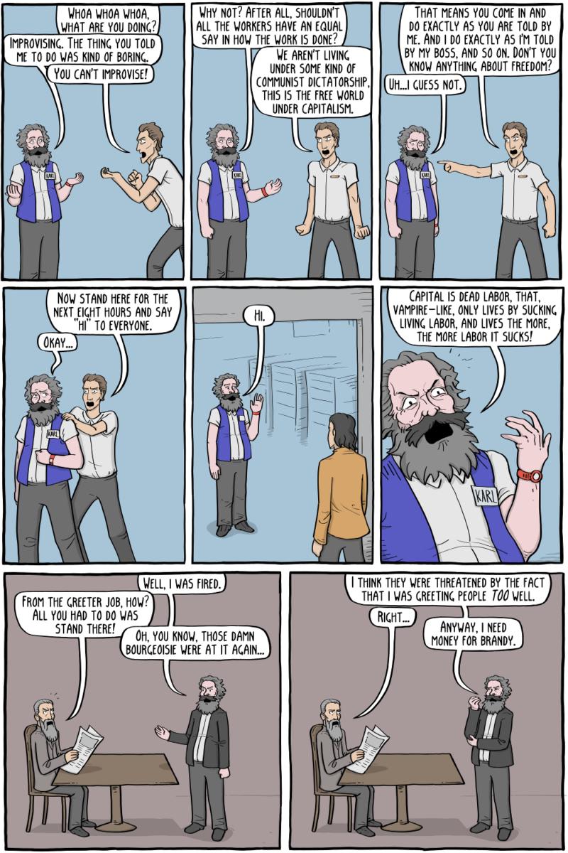 karl Marx Job 2