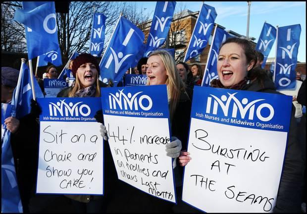 απεργία νοσοκόμες Ιρλανδία