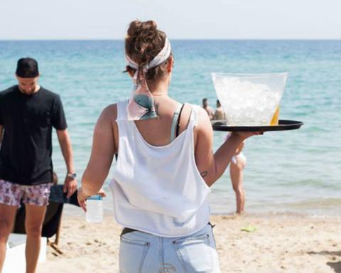 εργασία beach bar