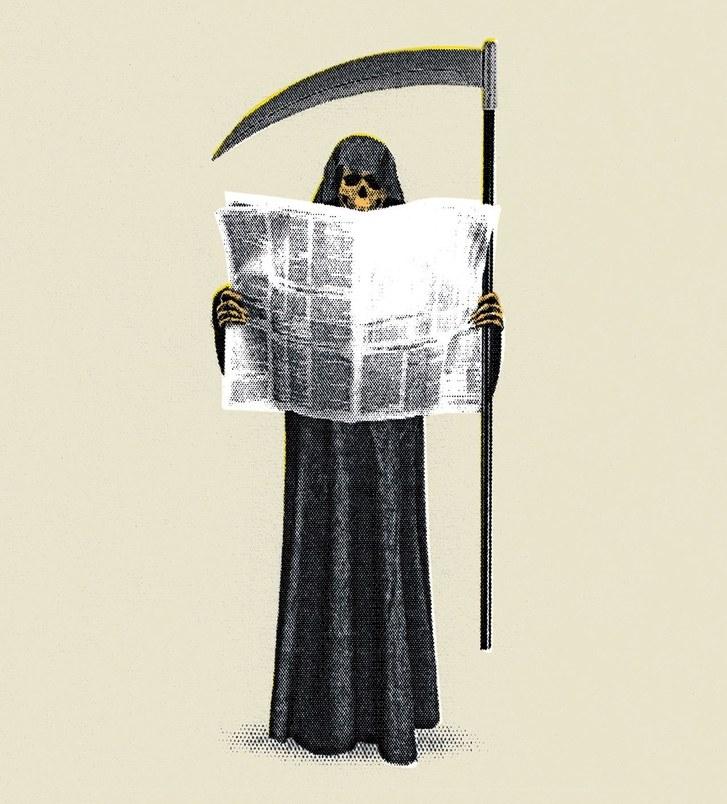 death journalism