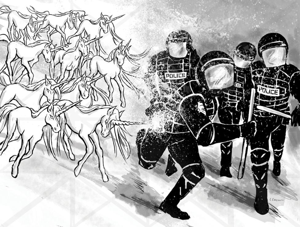 βία αστυνομία